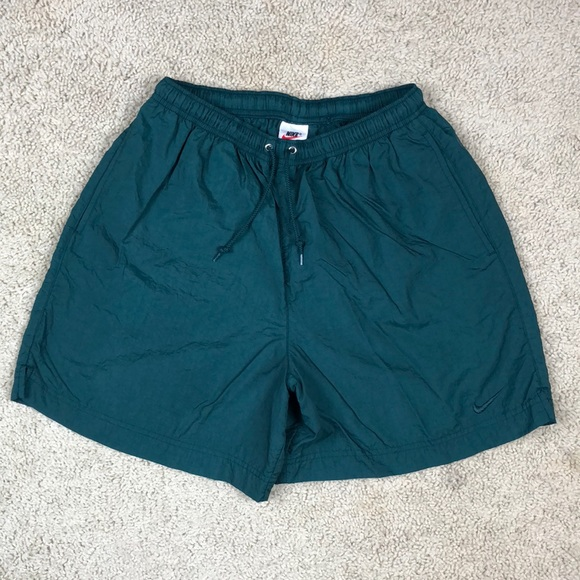 592d7f15e7 Nike Shorts | Vintage Green Running Mens Medium | Poshmark